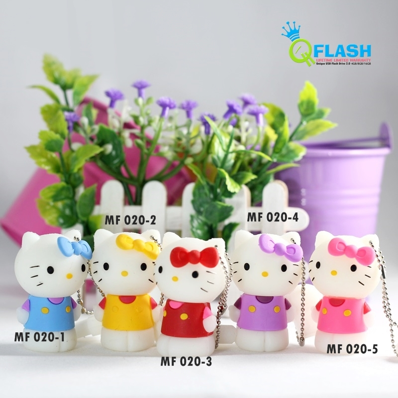 Flashdisk unik karakter Hello Kitty (MF020)