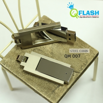 Flashdisk unik Mini Steel Chain (QM 007)