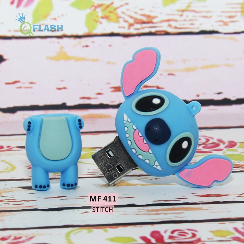 Flashdisk unik karakter Stitch (MF 411)
