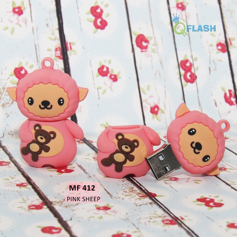 Flashdisk unik karakter Pink Sheep (MF 412)