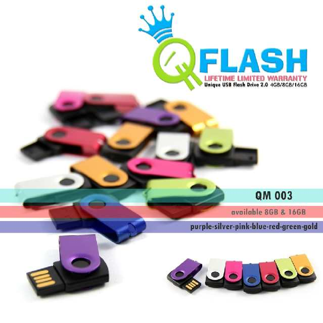 Flashdisk unik Mini (QM 003)