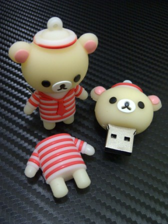 Flashdisk unik karakter Rilakuma Sailor (MF 336)