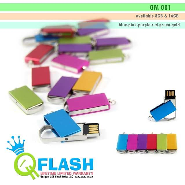 Flashdisk unik Mini (QM 001)