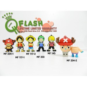 Flashdisk unik karakter One Piece